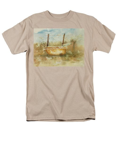 Study Of A Watering Tub Men's T-Shirt  (Regular Fit) by Vicki  Housel