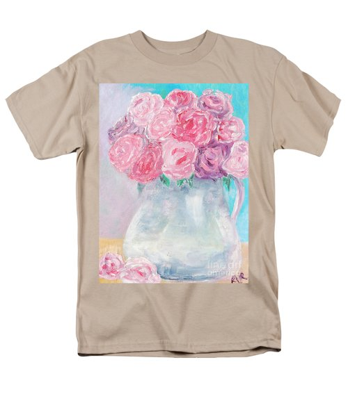 Men's T-Shirt  (Regular Fit) featuring the painting Study  by Reina Resto