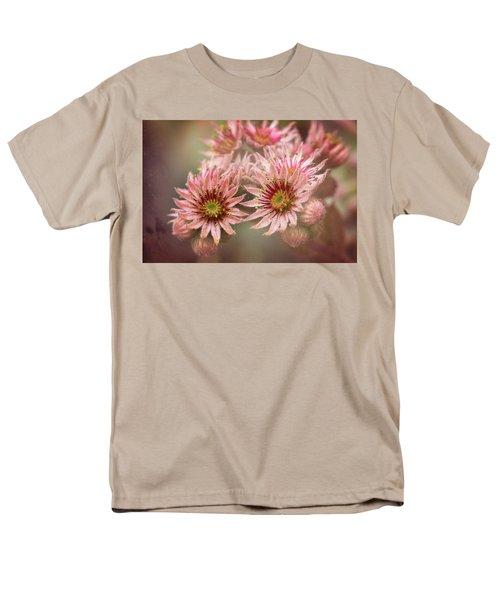 Succulent Flowers - 365-100 Men's T-Shirt  (Regular Fit)