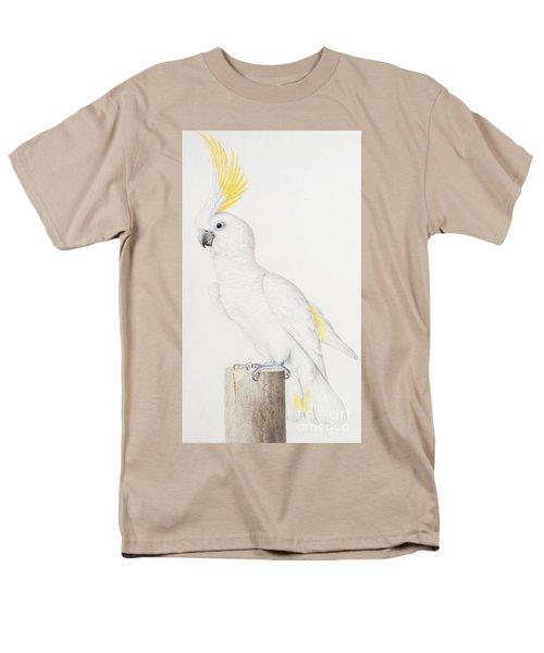Sulphur Crested Cockatoo Men's T-Shirt  (Regular Fit) by Nicolas Robert