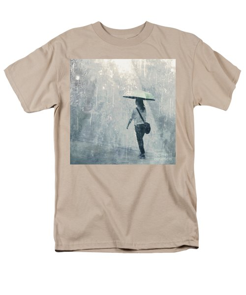 Summer Rain Men's T-Shirt  (Regular Fit) by LemonArt Photography