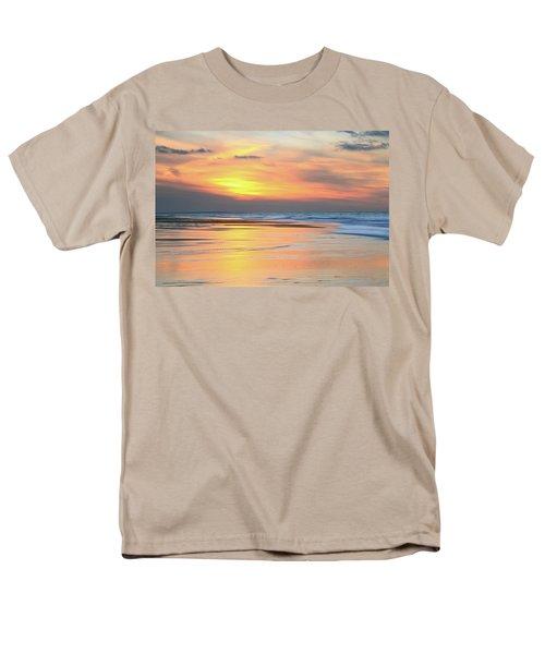 Sundown At Race Point Beach Men's T-Shirt  (Regular Fit) by Roupen  Baker