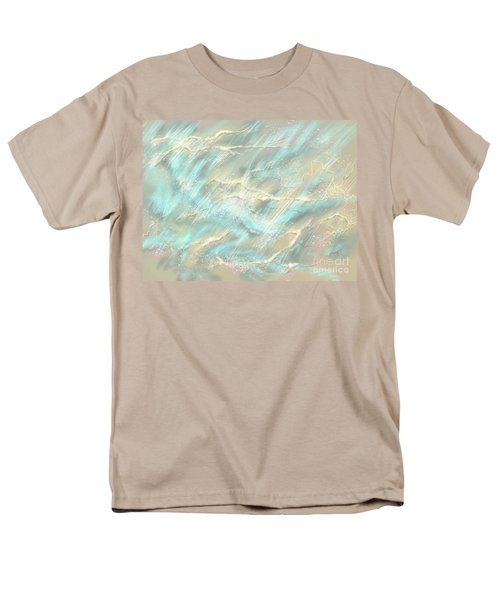 Men's T-Shirt  (Regular Fit) featuring the digital art Sunlight On Water by Amyla Silverflame