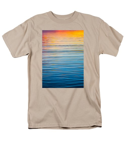 Sunrise Abstract  Men's T-Shirt  (Regular Fit) by Parker Cunningham
