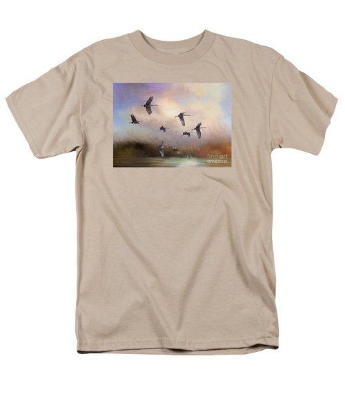 Sunrise Flight Men's T-Shirt  (Regular Fit) by Janice Rae Pariza