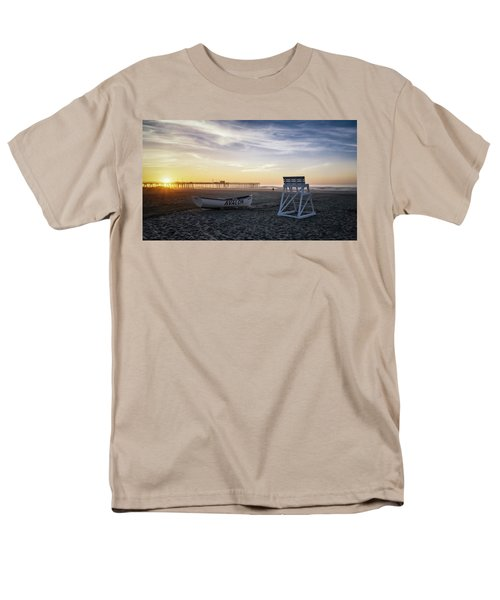 Men's T-Shirt  (Regular Fit) featuring the photograph Sunrise In Avalon by Eduard Moldoveanu
