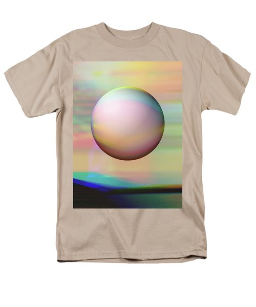 Men's T-Shirt  (Regular Fit) featuring the digital art Sunrise Visitor by Wendy J St Christopher