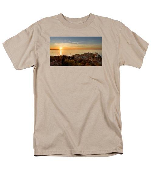 Sunset At Piran Men's T-Shirt  (Regular Fit) by Robert Krajnc