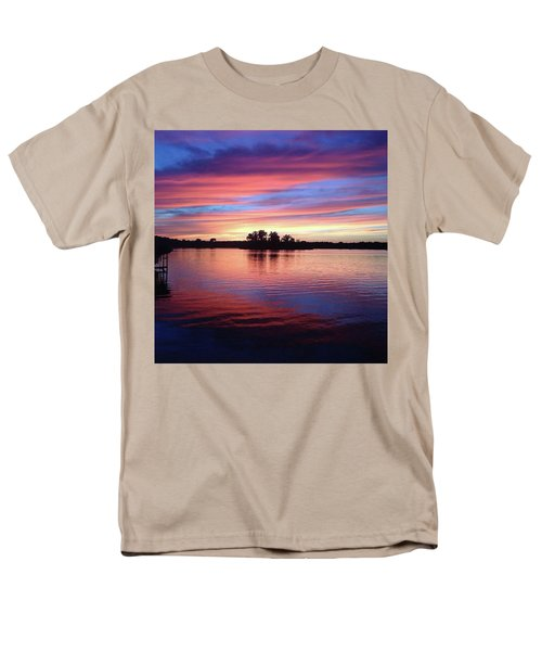 Sunset Dreams Men's T-Shirt  (Regular Fit) by Rebecca Wood
