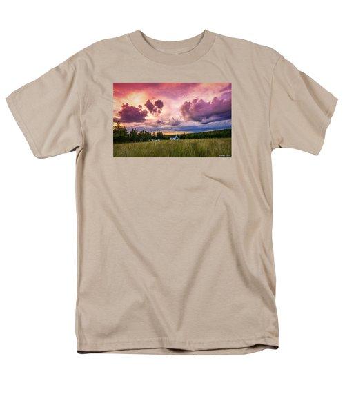 Sunset In Rear Intervale Men's T-Shirt  (Regular Fit) by Ken Morris