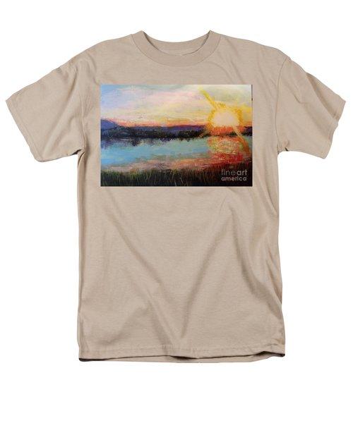 Sunset Men's T-Shirt  (Regular Fit) by Marlene Book
