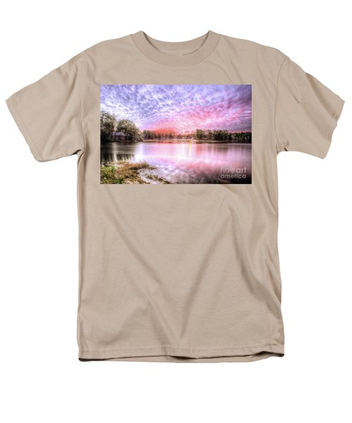Sunset On Flint Creek Men's T-Shirt  (Regular Fit) by Maddalena McDonald