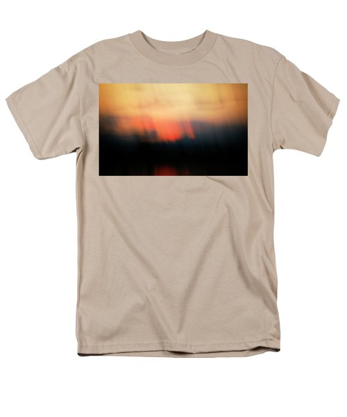Men's T-Shirt  (Regular Fit) featuring the photograph Sunset Raining Down by Marilyn Hunt