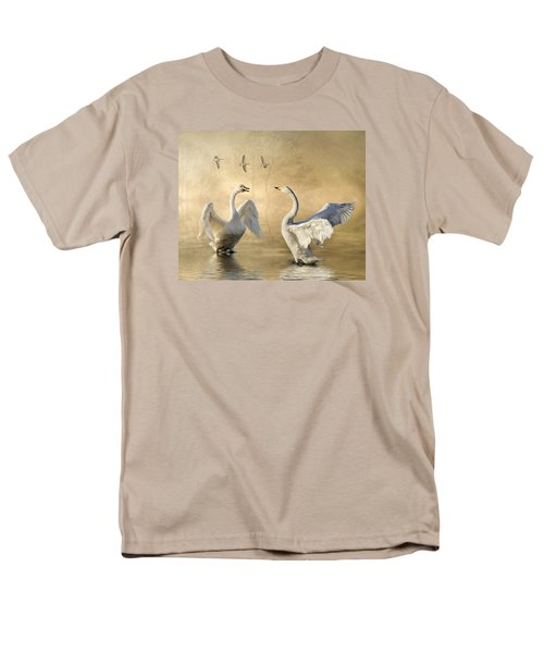 Men's T-Shirt  (Regular Fit) featuring the photograph Sunset Squabble by Brian Tarr