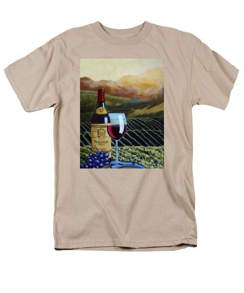 Sunset W/beaujolais Men's T-Shirt  (Regular Fit)