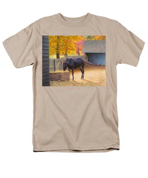 Men's T-Shirt  (Regular Fit) featuring the painting Supper Time by Joe Bergholm