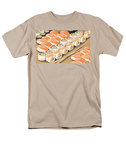 Men's T-Shirt  (Regular Fit) featuring the painting Sushi by Veronica Minozzi