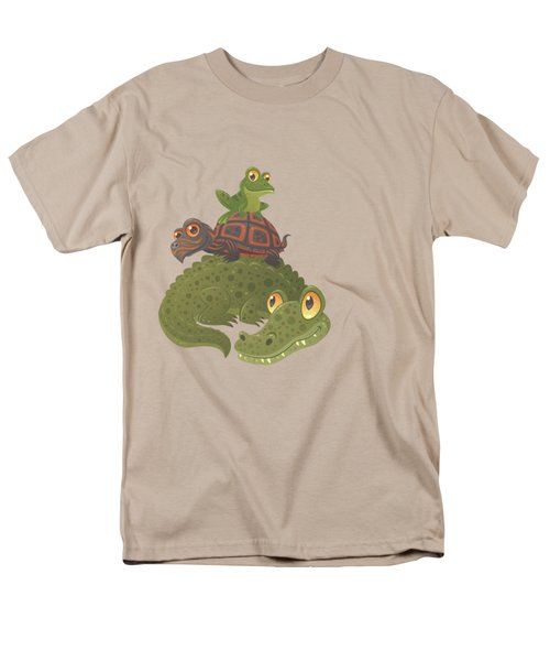 Swamp Squad Men's T-Shirt  (Regular Fit) by John Schwegel