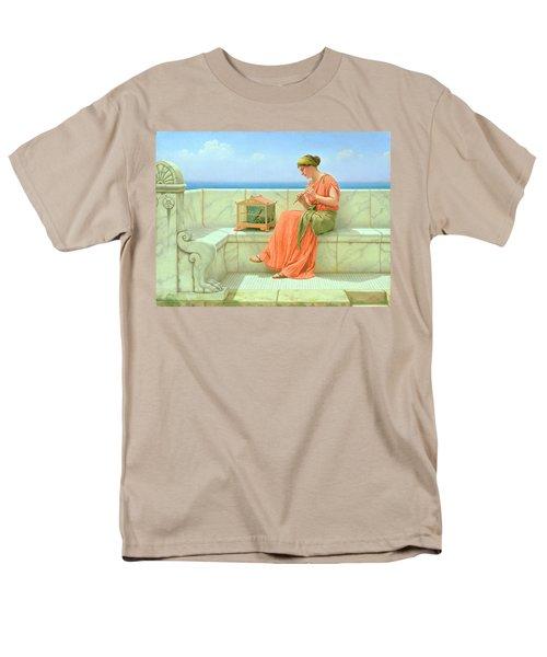 Sweet Sounds Men's T-Shirt  (Regular Fit) by John William Godward