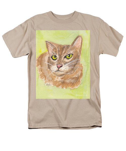 Tabby With Attitude Men's T-Shirt  (Regular Fit) by Terry Taylor
