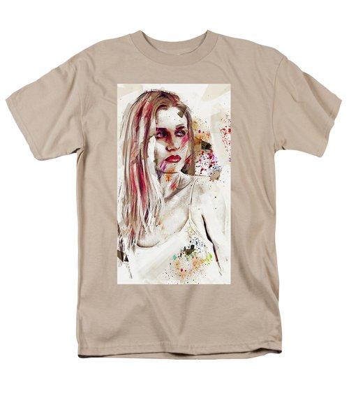 Men's T-Shirt  (Regular Fit) featuring the digital art Taction by Galen Valle