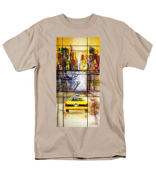 Taxi 7 Men's T-Shirt  (Regular Fit)