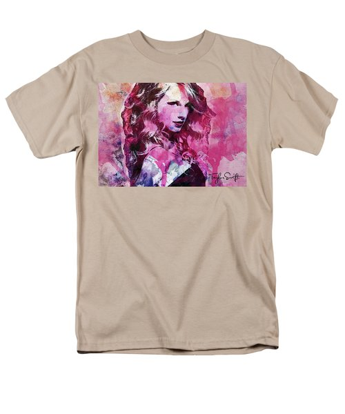 Taylor Swift - Oncore Men's T-Shirt  (Regular Fit) by Sir Josef - Social Critic - ART