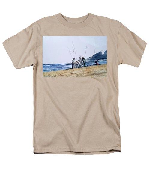 Teach Them To Fish Men's T-Shirt  (Regular Fit) by Tim Johnson