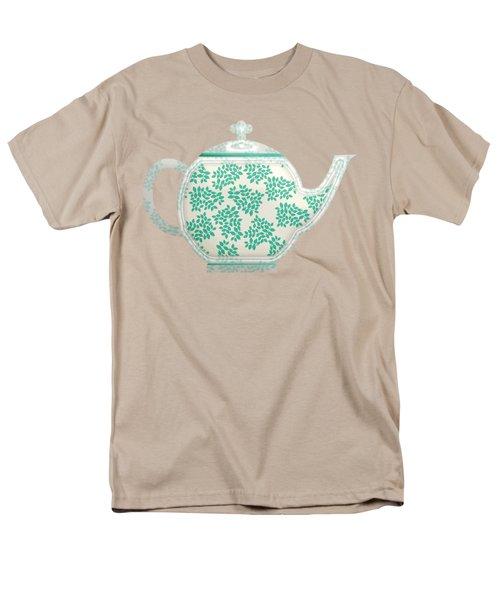 Teapot Garden Party 1 Men's T-Shirt  (Regular Fit) by J Scott