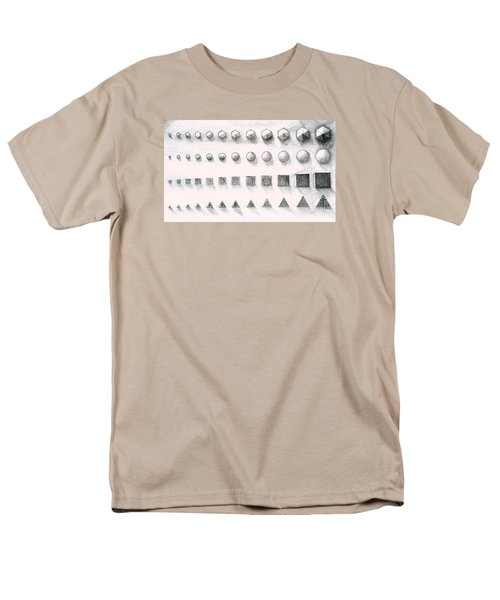 Men's T-Shirt  (Regular Fit) featuring the drawing Template by James Lanigan Thompson MFA