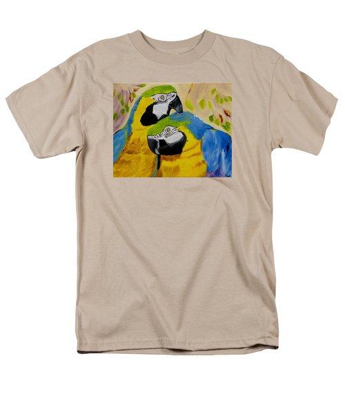 Tender Birdsong  Men's T-Shirt  (Regular Fit) by Meryl Goudey
