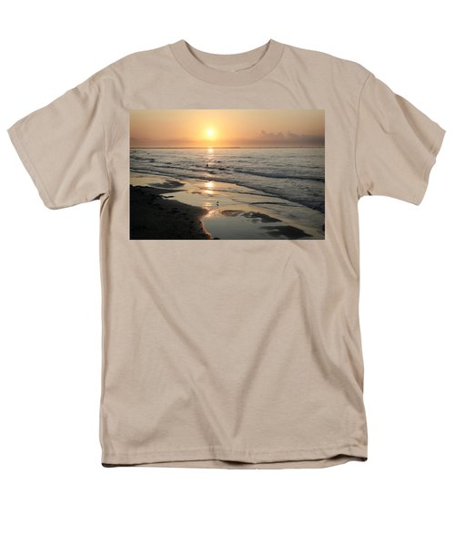 Texas Gulf Coast At Sunrise Men's T-Shirt  (Regular Fit) by Marilyn Hunt