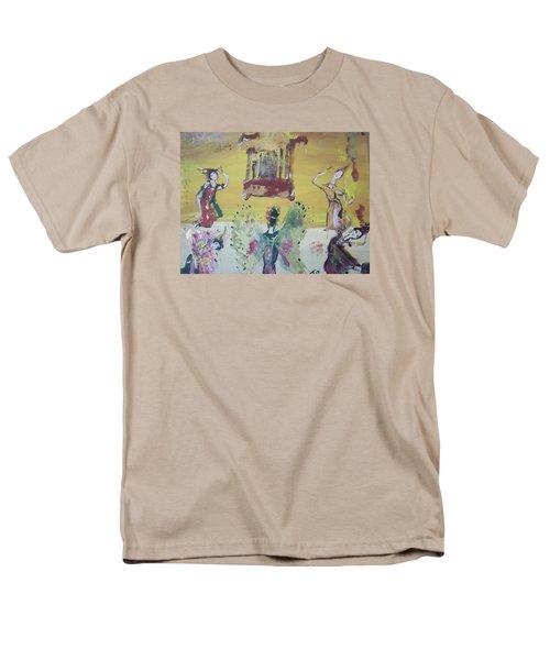 Thai Butterfly Dance Men's T-Shirt  (Regular Fit) by Judith Desrosiers
