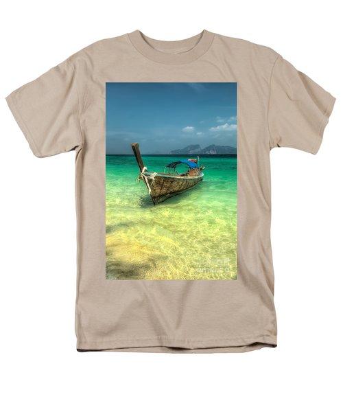 Thai Longboat  Men's T-Shirt  (Regular Fit) by Adrian Evans