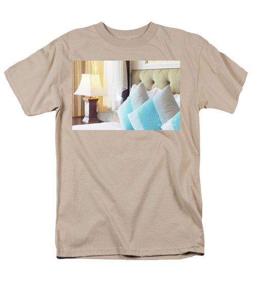 Men's T-Shirt  (Regular Fit) featuring the photograph Thai Style Bedroom by Atiketta Sangasaeng
