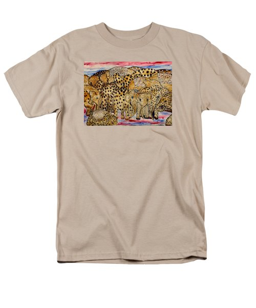 That's Alot Of Elephants Men's T-Shirt  (Regular Fit) by Lisa Aerts