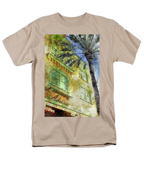 The Adrian Hotel South Beach Men's T-Shirt  (Regular Fit) by Jon Neidert