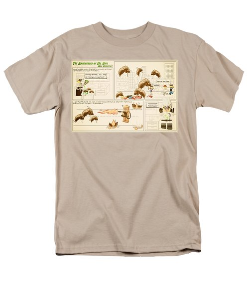 Men's T-Shirt  (Regular Fit) featuring the photograph The Adventures Of Dr Ogel by Mark Fuller