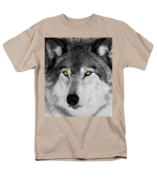 Men's T-Shirt  (Regular Fit) featuring the photograph The Alpha Portrait by Mircea Costina Photography