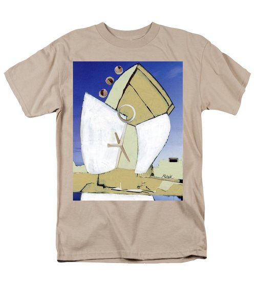 Men's T-Shirt  (Regular Fit) featuring the painting The Arc by Michal Mitak Mahgerefteh