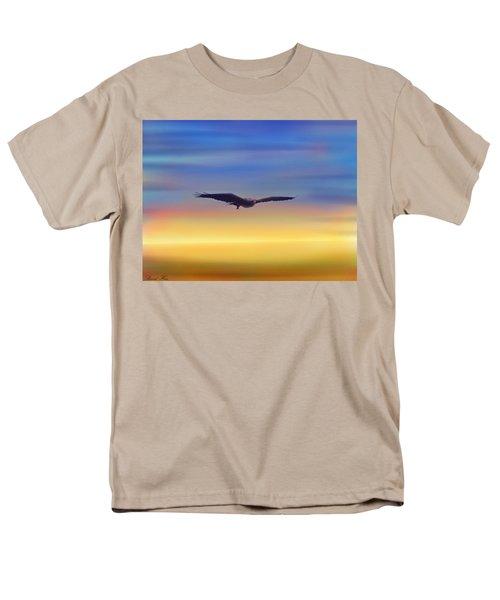 The Art Of Flying Men's T-Shirt  (Regular Fit) by Bernd Hau