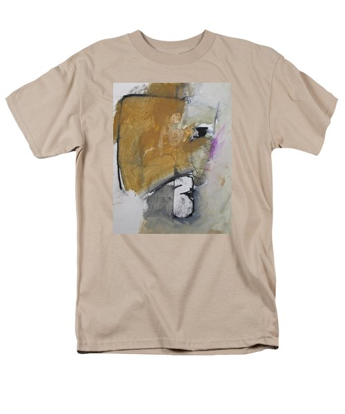 Men's T-Shirt  (Regular Fit) featuring the painting The B Story by Cliff Spohn