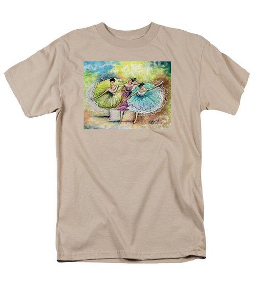 The Ballerina Dancers Men's T-Shirt  (Regular Fit) by Elizabeth Robinette Tyndall