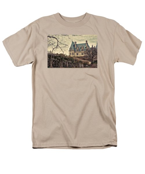 The Biltmore Mansion In The Fall Men's T-Shirt  (Regular Fit) by Robert FERD Frank