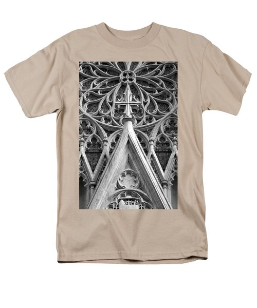 The Cathedral Of St. Patrick Close Up Men's T-Shirt  (Regular Fit) by Michael Dorn