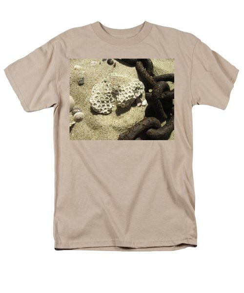 The Chain And The Fossil Men's T-Shirt  (Regular Fit) by Trish Tritz