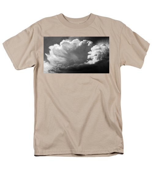 Men's T-Shirt  (Regular Fit) featuring the photograph The Cloud Gatherer by John Bartosik
