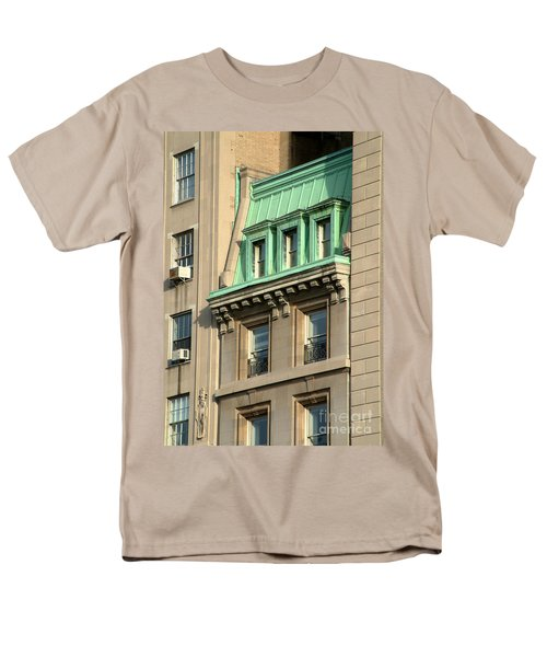 Men's T-Shirt  (Regular Fit) featuring the photograph The Copper Attic by RC DeWinter
