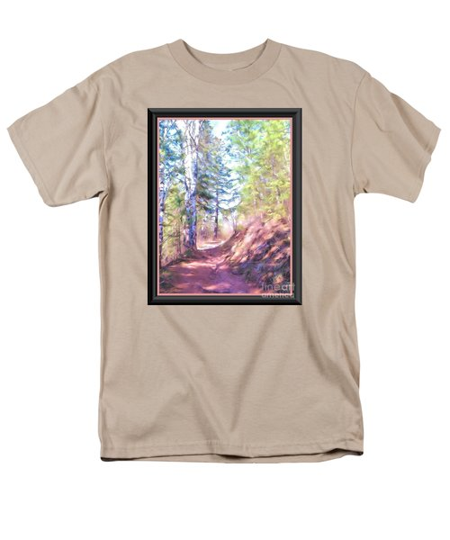 The Copper Path Men's T-Shirt  (Regular Fit) by Shirley Moravec