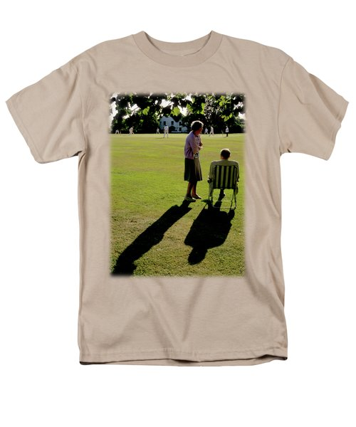 The Cricket Match Men's T-Shirt  (Regular Fit) by Jon Delorme